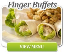 A selection of Caesar salad wraps | Office Catering Surrey