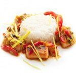 stir fried chicken with rice | Business Catering in Woking