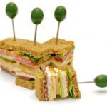 A selection of freshly made sandwiches | Office Lunches in Woking
