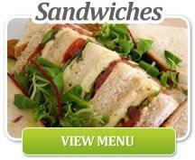 Selection of delicious sandwiches | Corporate Lunches Surrey