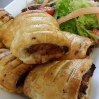 Peri Peri Vegetarian Rolls (v)