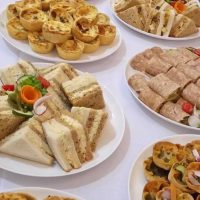 Selection of Finger Foods and Sandwiches