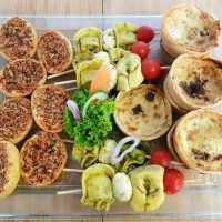 Selection of Vegetarian Finger Foods