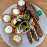 Selection of Vegetarian Finger Foods - Corporate Catering Camberley