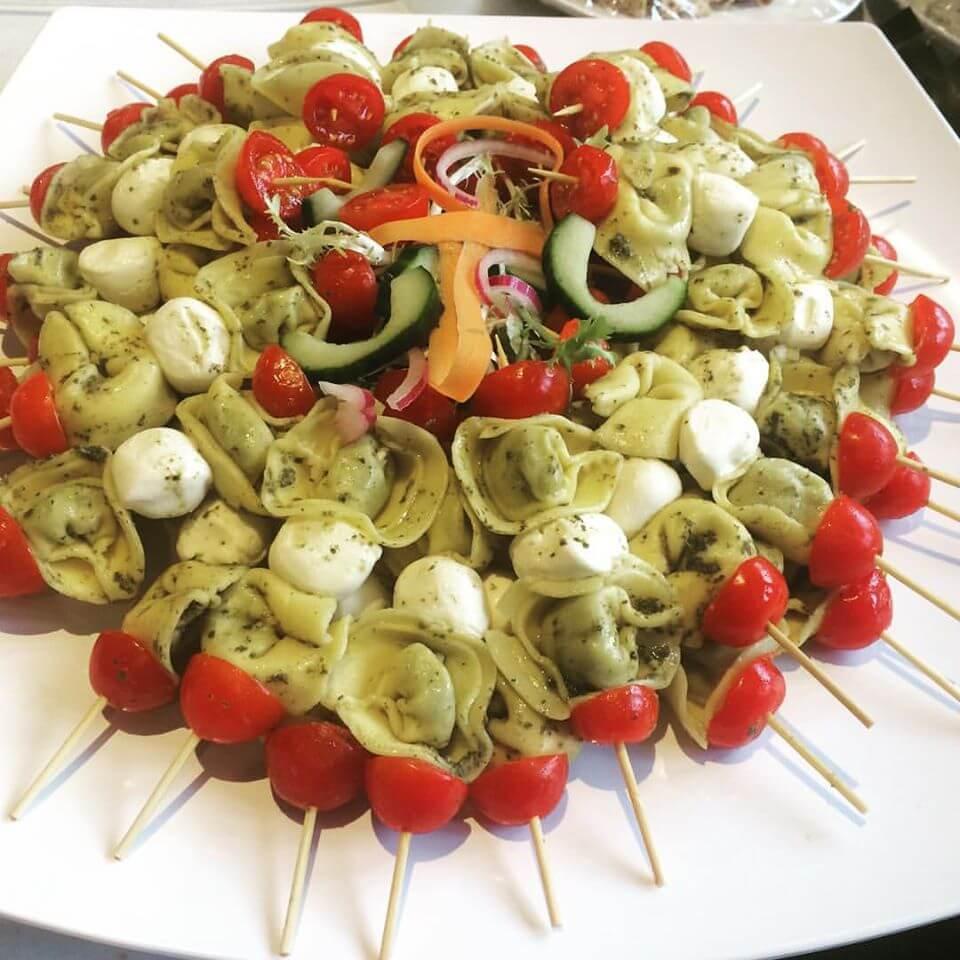 Tomato Mozarella Plate