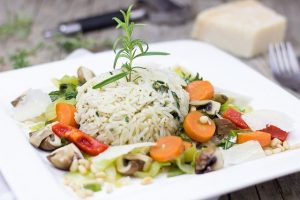 Selection of side orders rice and vegetables | Office Lunches Hot Buffet Surrey