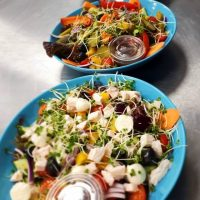 Selection of Low Carb Salads