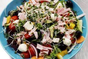 Dietary Ham Salad