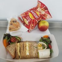 Packed Sandwich Lunch